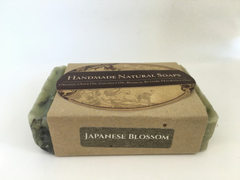 "Handmade Natural Soap "" Japanese Blossom"", 132G"