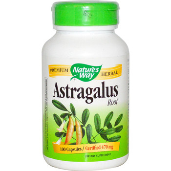 Nature's Way Astragalus Root 100 Capsules
