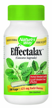 Nature's Way Effectalax 425 mg, 100 Capsules