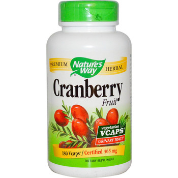 Nature's Way Cranberry Fruit 465 mg, 100 Capsules