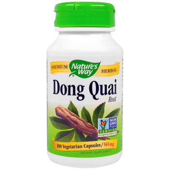 Nature's Way Dong Quai Root 565 mg, 100 Capsules