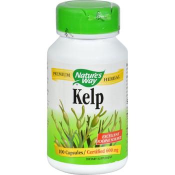 Nature's Way Kelp 600 mg, 100 Capsules