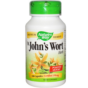 Nature's Way St John's Wort 350 mg, 100 Capsules