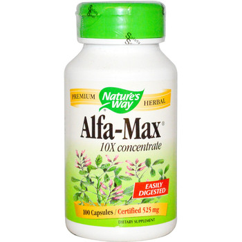Nature's Way Alfa Max 525 mg, 100 Capsules