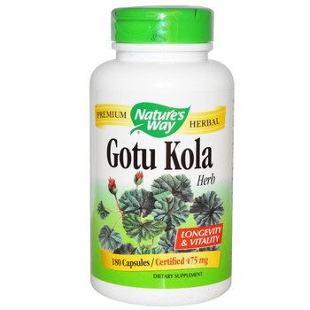 Nature's Way Gotu Kola Herb 100 Capsules