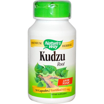 Nature's Way Kudzu Root 613 mg, 50 Capsules