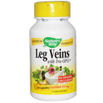 Nature's Way Leg Veins 435 mg, 60 Capsules
