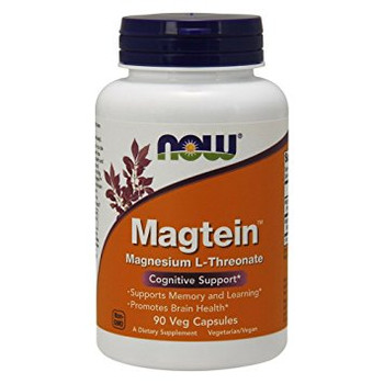 NOW Magtein, 90 Capsules