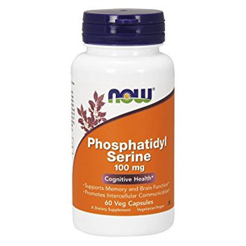 NOW Phosphatidyl 100 mg, 60 Capsules