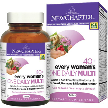 New Chapter Every Woman`s Multivitamin 40+, 48 Tablets