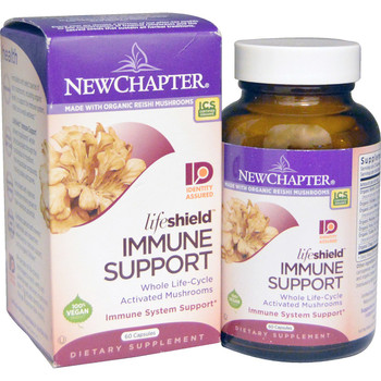 New Chapter Lifeshield Immune Support, 48 Capsules