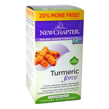 New Chapter Tumeric Force, 144 Capsules