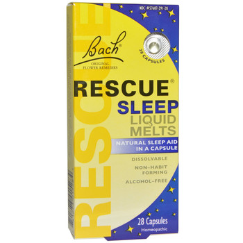 Bach Rescue Night Liquid Melts, 28