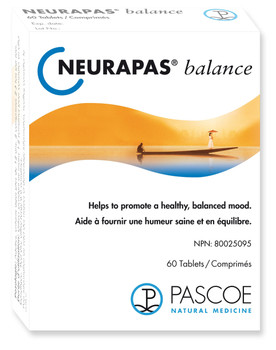 Pascoe Natural Medicine Neurapas Balance, 100 Tablets
