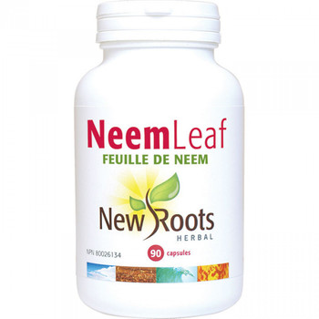 New Roots Neem Leaf, 90 Capsules