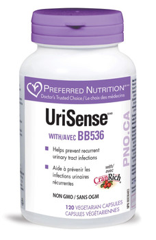 Preferred Nutrition UriSense with BB536, 120 Veg Capsules