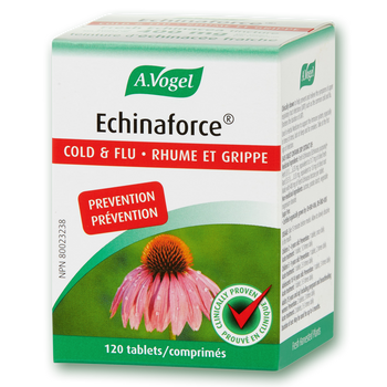 A. Vogel Echinaforce Cold & Flu, 400 mg- 120 Tablets