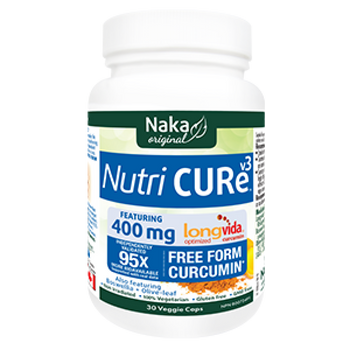 Naka Nutri Cure 400 mg, 30 Veg Capsules