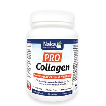 Naka Pro Collagen Bovine, 120 Capsules