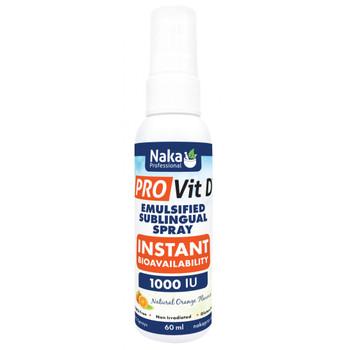 Naka Pro Vitamin D Instant Spray-1000 IU, 60ml