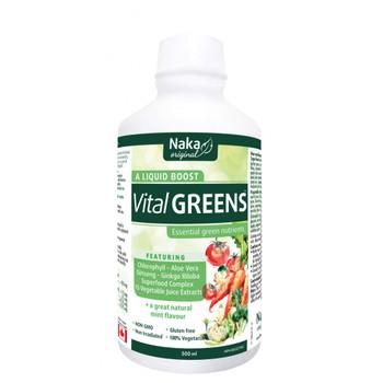 Naka Vital Greens Liquid, 500 ml