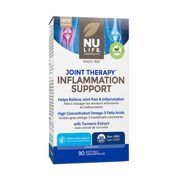 NU LIFE Therapeutics Joint Therapy, Inflammation Support, 90 Softgels