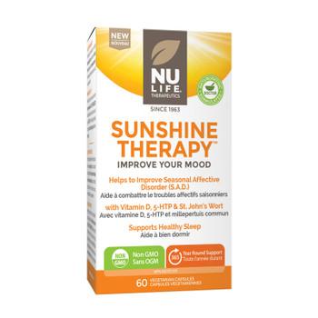NU LIFE Therapeutics Sunshine Therapy (Improve Your Mood) 60 Capsules