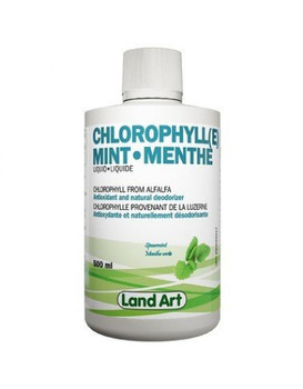 Land Art Chlorophyll (e) Mint Flavour, 500 ml