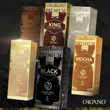 5 PackOrgano Gold Health in a Cup of Coffee or Tea