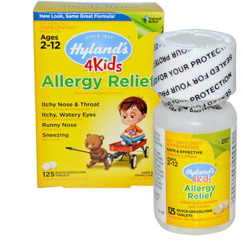 Hyland's Allergy 4 Kids, 125 Tablets