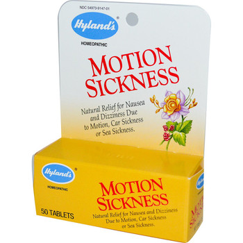 Hyland's Motion Sickness Relief, 50 Tablets