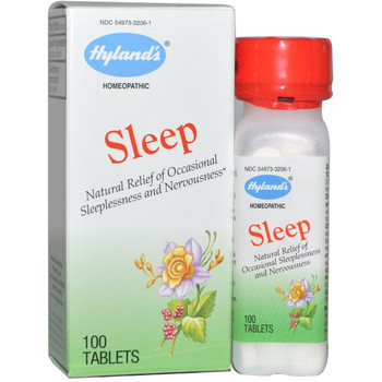 Hyland's Sleep-Natural Relief of Occasional Sleeplessness, 100 Tablets
