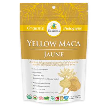 Organic Traditions Yellow Maca, 227g