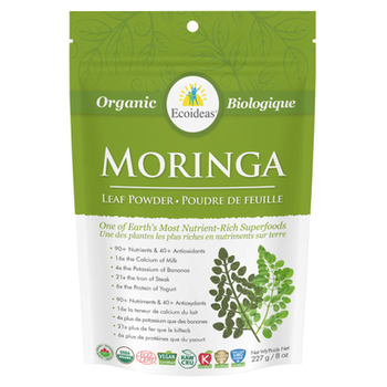 Ecoideas Moringa Powder Large, 227 g