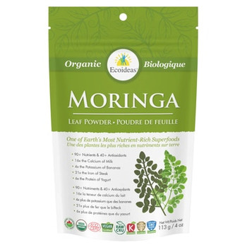 Ecoideas Moringa Powder Small, 113 g