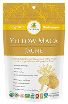 Ecoideas Yellow Maca Small, 227 g
