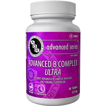 Aor Advanced B Complex Ultra, 525 Mg