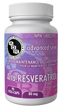 Aor Acta- Resveratrol, 80 mg