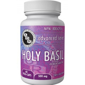 Aor Holy Basil, 500 mg 60 caps