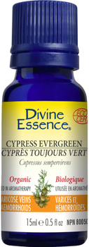 Divine Essence Cypress EverGreen, 15 ml