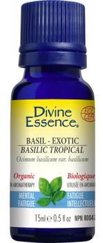 Divine Essence Basil, 15 ml