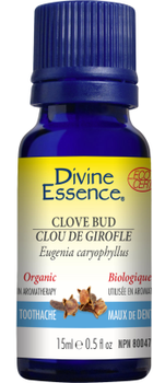 Divine Essence Clove Bud, 15 ml