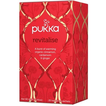 Pukka Revitalise Tea, 40 mg
