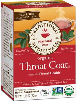 Traditional Medicina Trad Organic Throat Coat, 32 mg