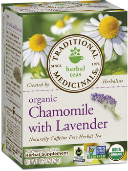 Traditional Trad Tea Chamoile W Lavender, 24 g