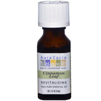 Aura Cacia Cinnamon Leaf Oil, 15 ml