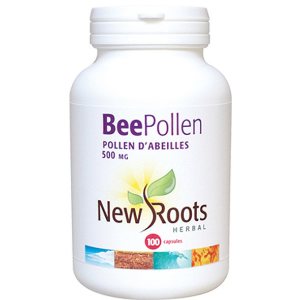 New Roots BeePollen, 500 mg