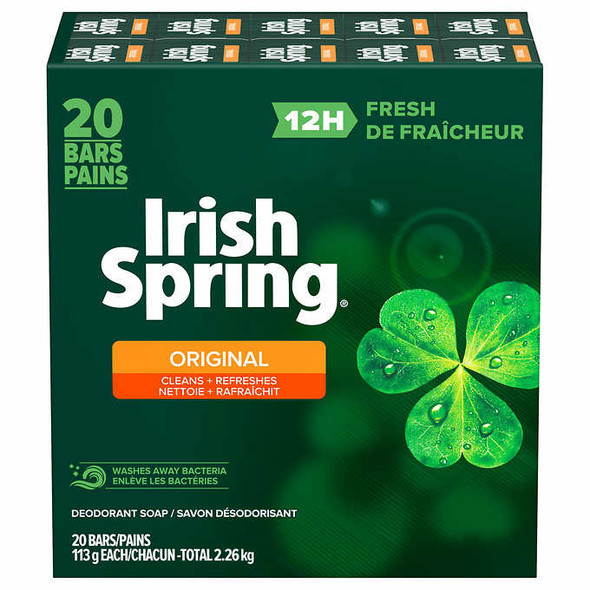 Irish Spring 20 Pack