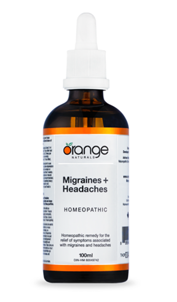 Homeopathic - Migraines+Headaches 100ml