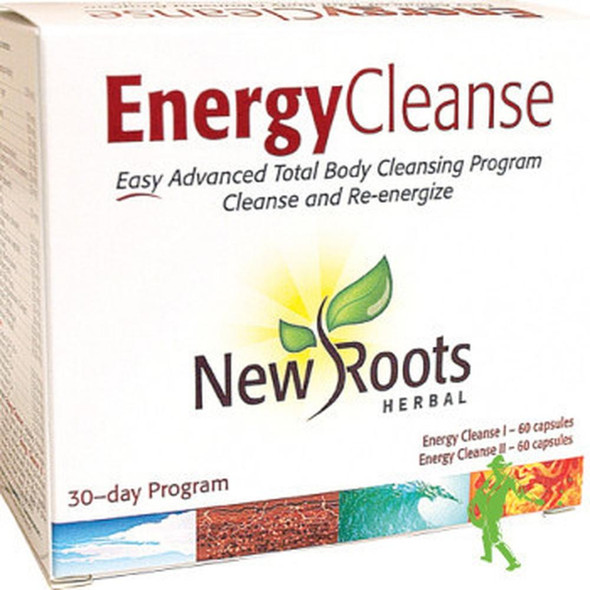 New Roots Energy Cleanse 30 Day Program, 60 Caps